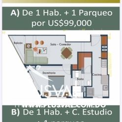 Céntrico y moderno proyecto de apartamentos en venta, La Julia 169872