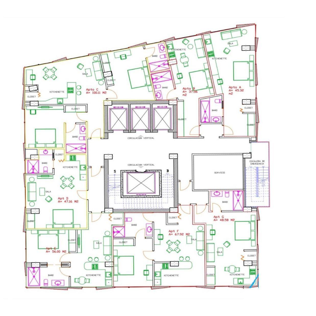 Apartamento de Venta en Naco 163689