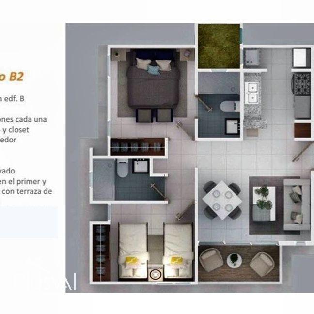 Apartamento de 2 habitaciones en Verón Punta Cana; proyecto cerrado 173995