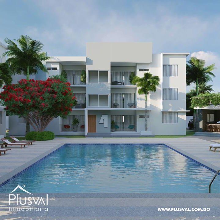 Proyecto de apartamentos en venta, Campo de Wolf White Sands, Bávaro, Punta Cana