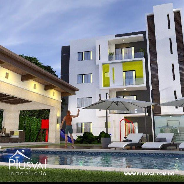 Apartamentos en residencial con piscina y gazebo en Gurabo