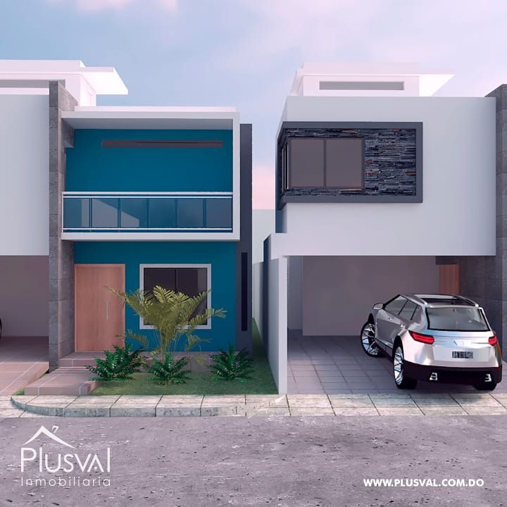 Proyecto de 5 Casas en Las Americas