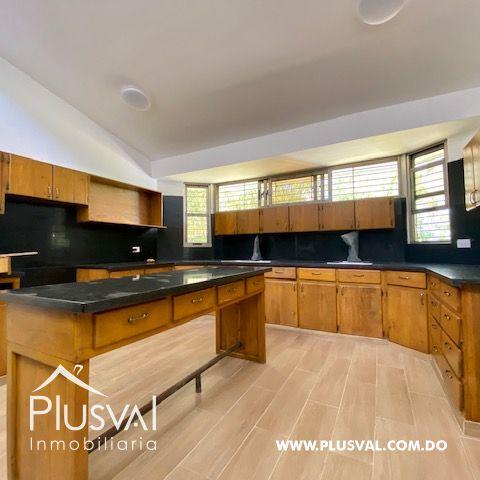 Hermosa casa en alquiler en zona residencial y exclusiva en Los Rios Arroyo Hondo 169698