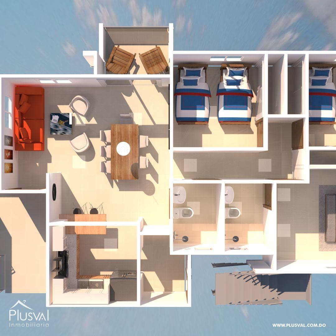 Torres de apartamento en Santo Domingo Oeste; aplica bono vivienda 189479
