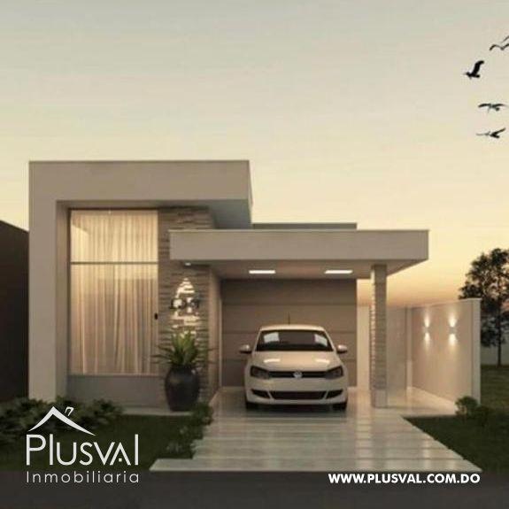 Casas estilo minimalistas, en Torre Alta Sur
