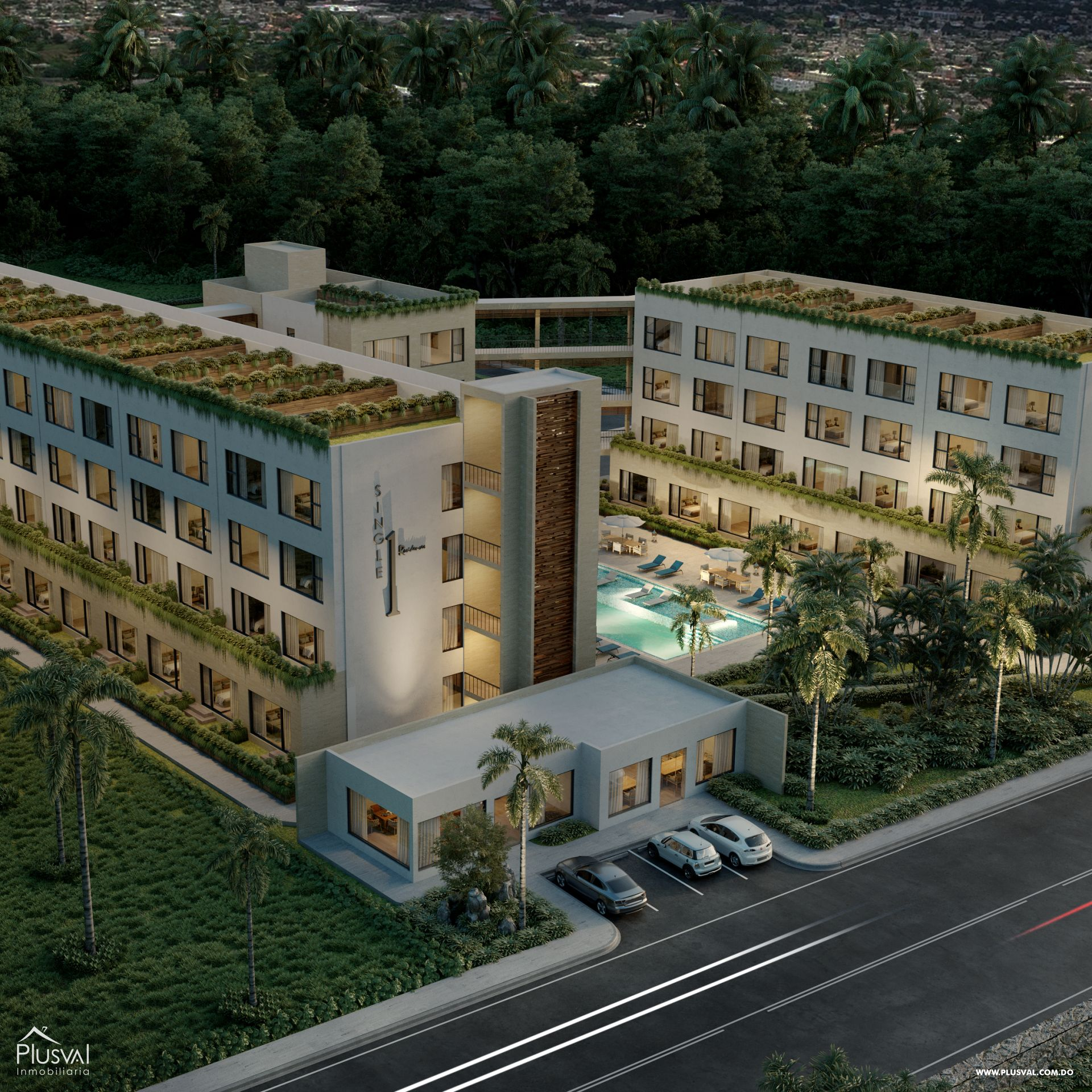 Proyecto de Apartamentos de 1 Habitación 173889