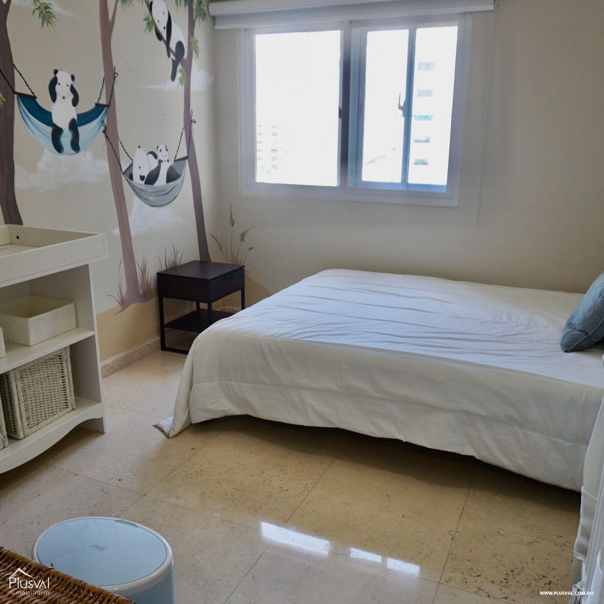 Apartamento en Alquiler Amueblado en zona Premium de Piantini 155536