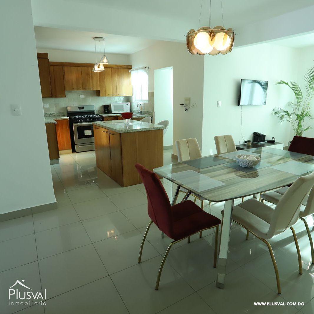 Apartamento en renta amueblado ubicado en Llanos de Gurabo 188137