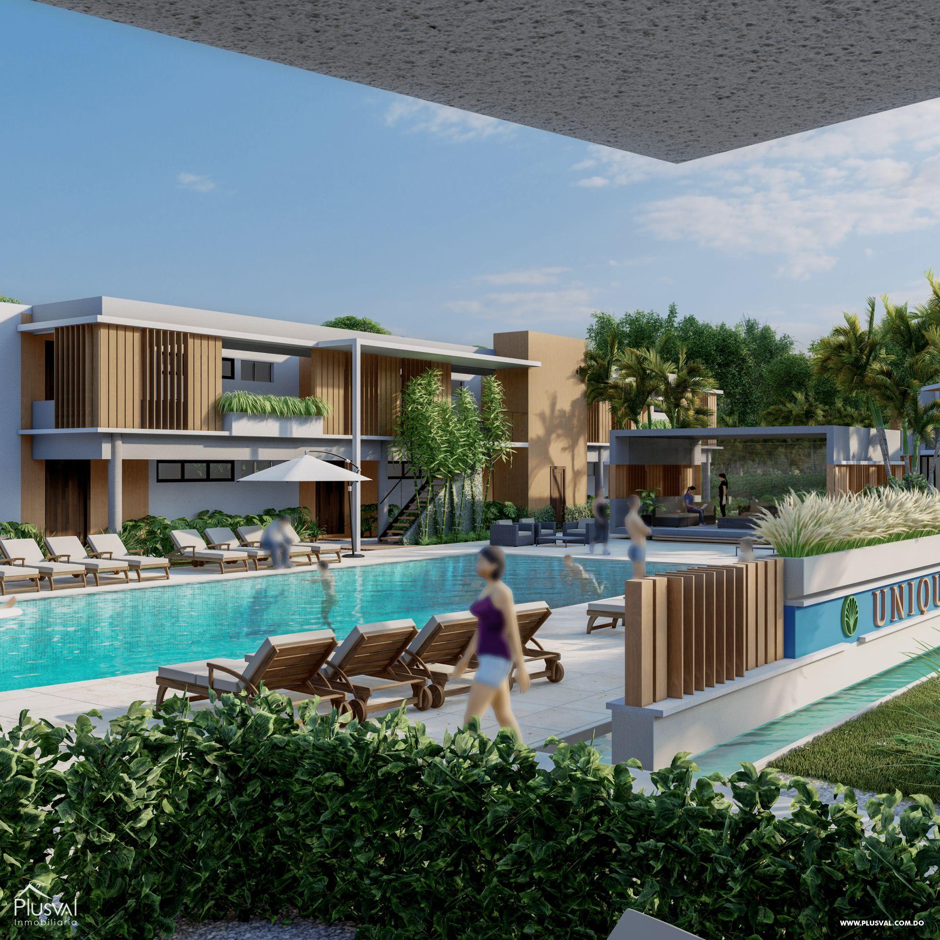 Apartamentos de 1 y 2 Habitaciones en Venta, en la zona de Punta Cana 181167