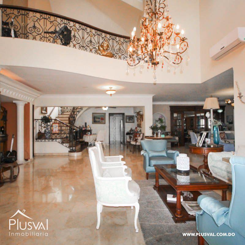 Penthouse en venta, Piantini con Terraza