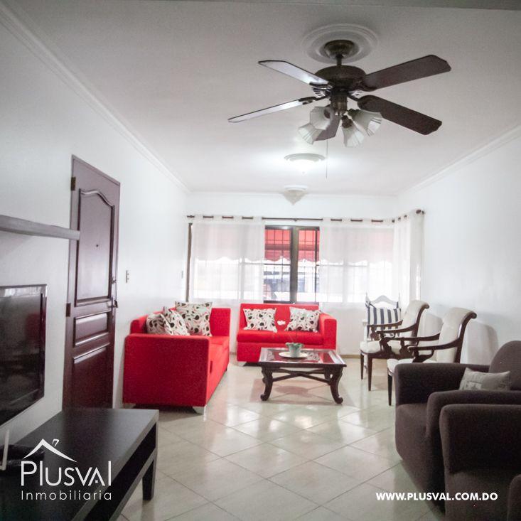 Apartamento amueblado en alquiler en Naco