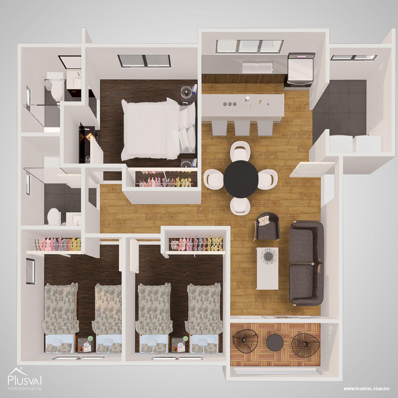 Residencial con Bono de Primera vivienda en el Distrito Nacional 179085