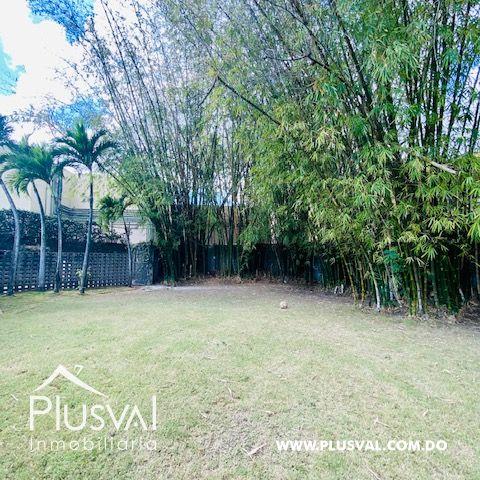 Hermosa casa en alquiler en zona residencial y exclusiva en Los Rios Arroyo Hondo 169703