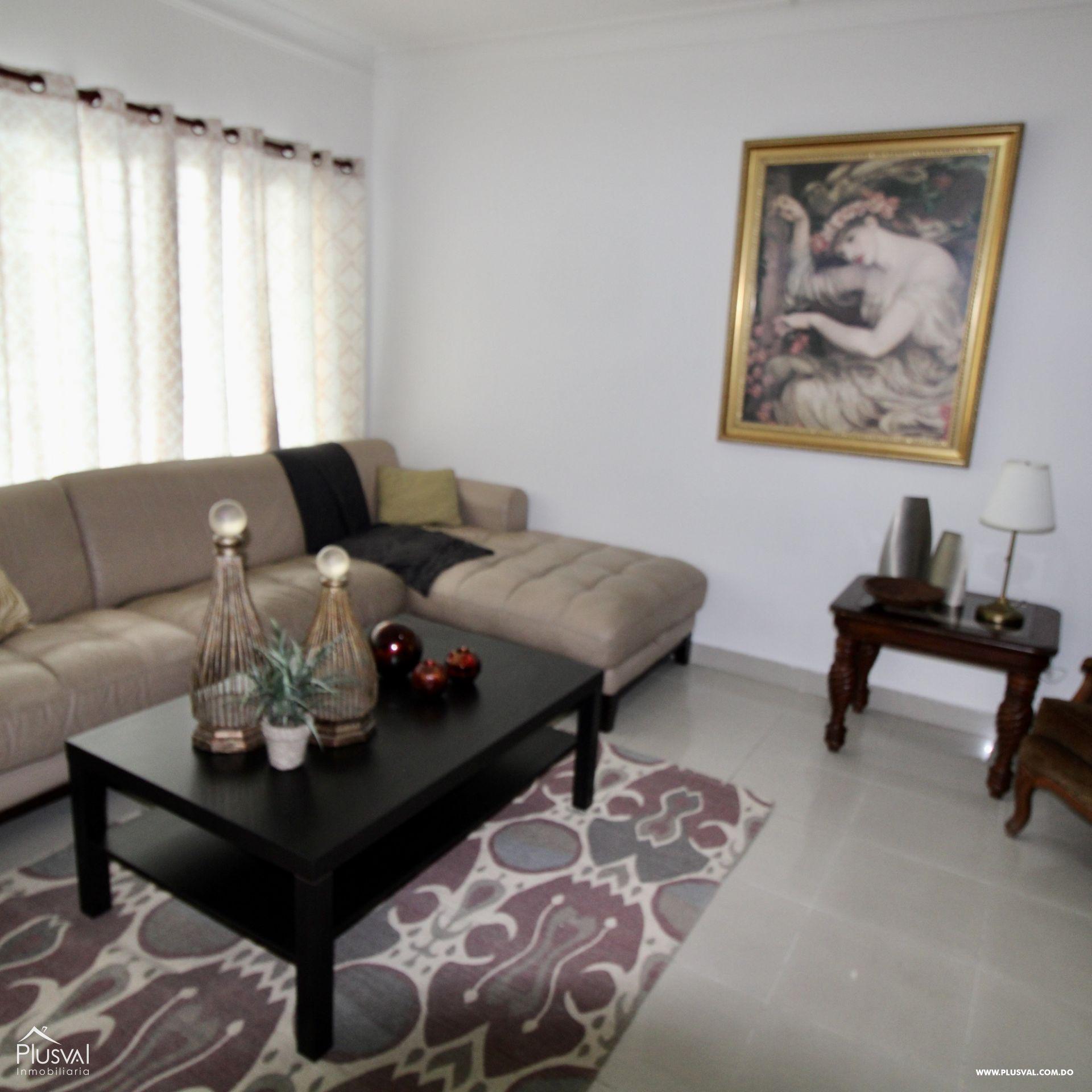 Apartamento en alquiler Primer piso, Gazcue