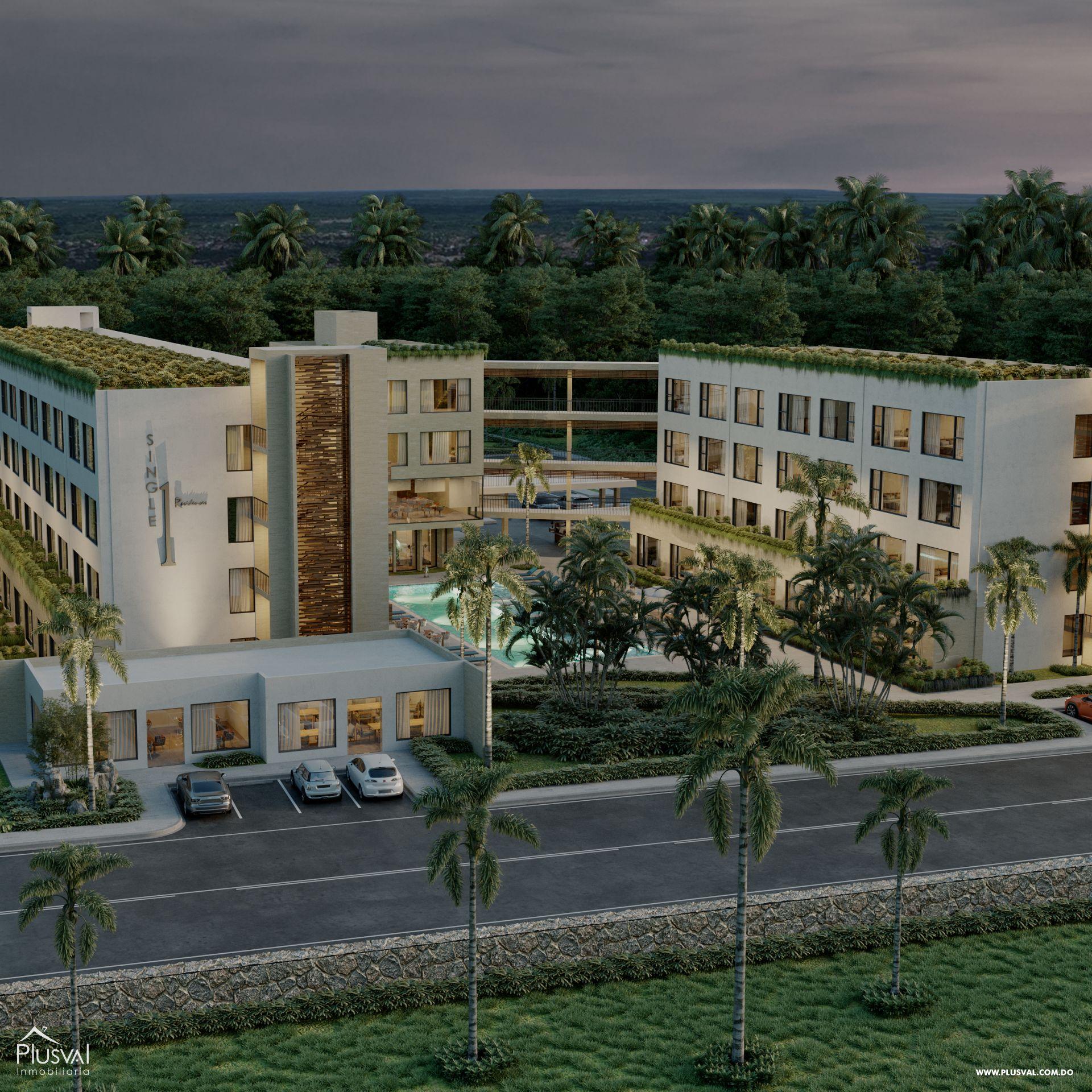 Proyecto de Apartamentos de 1 Habitación