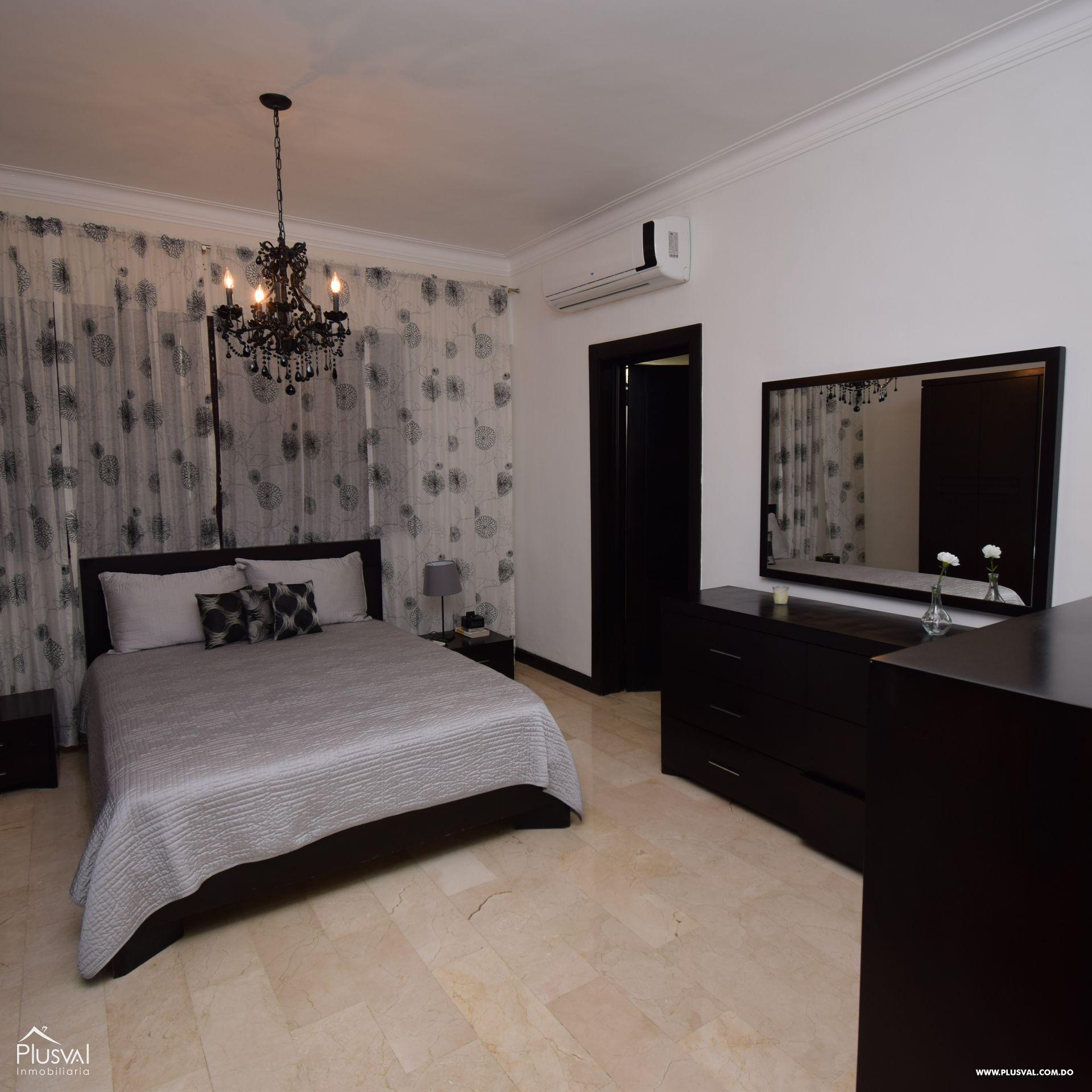 Apartamento en alquiler amueblado en Naco 154923