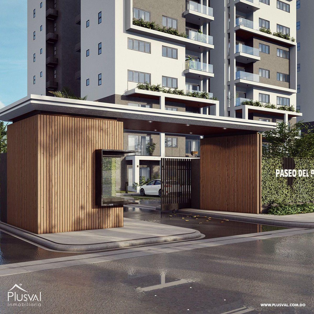 Modernos apartamentos en venta en Santiago