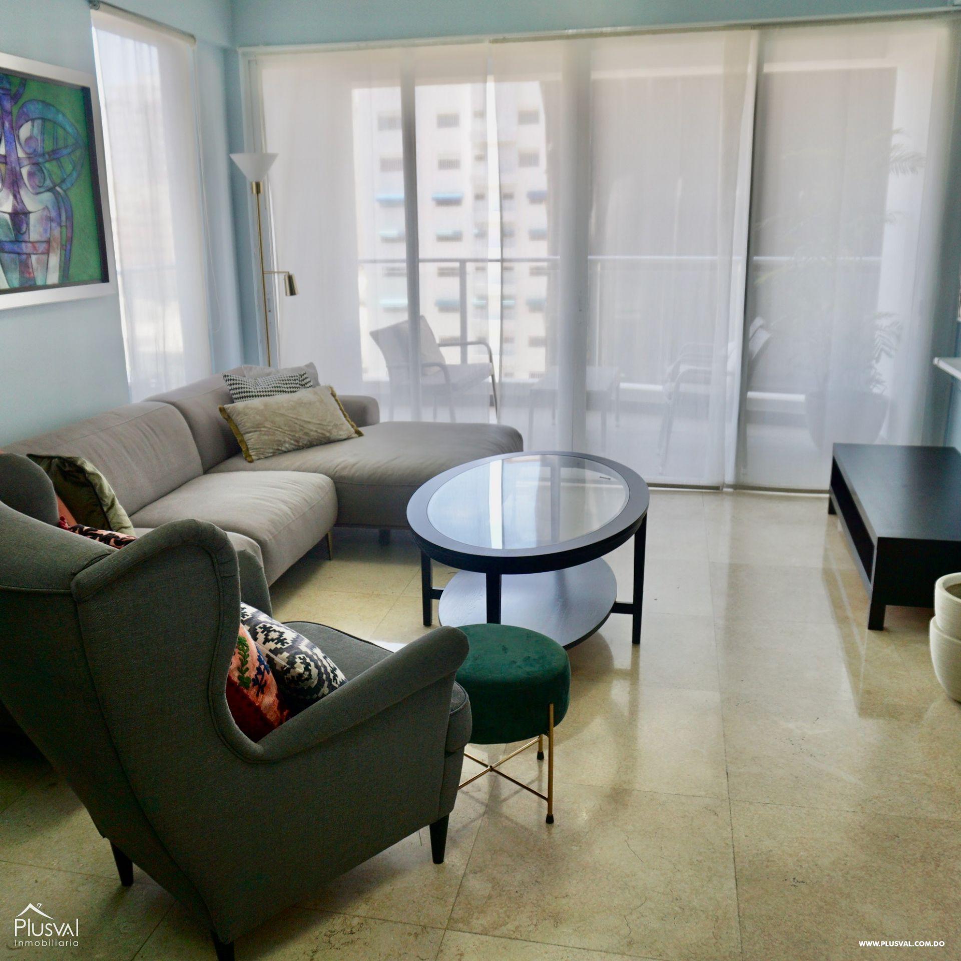 Apartamento en Alquiler Amueblado en zona Premium de Piantini 155544
