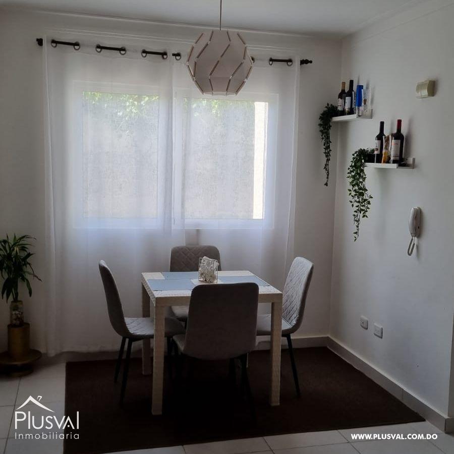 Apartamento completamente amueblado, con todos sus hierros de protección, camara de seguridad, en Residencial Terrazul 189060