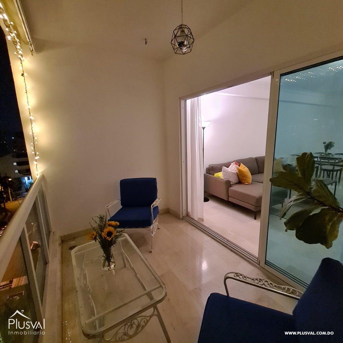 Apartamento amueblado en alquiler, Naco 188910
