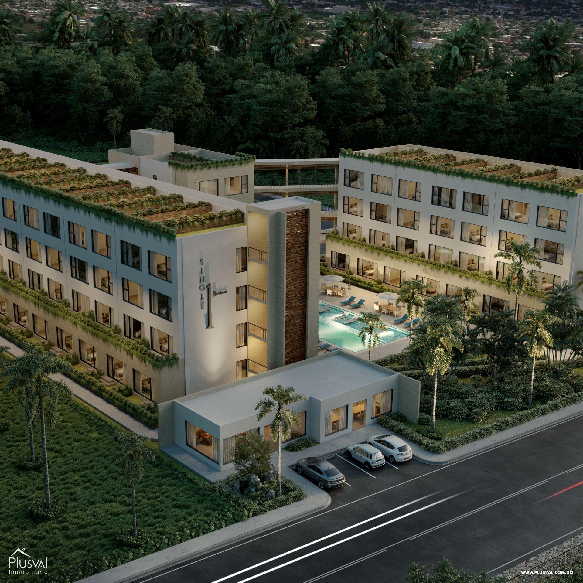 Proyecto de Apartamentos de 1 Habitación 173901