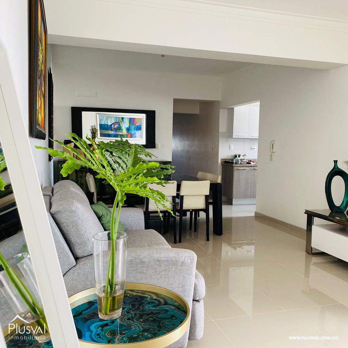 Apartamento en alquiler amueblado full en Gazcue .