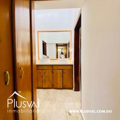 Hermosa casa en alquiler en zona residencial y exclusiva en Los Rios Arroyo Hondo 169689