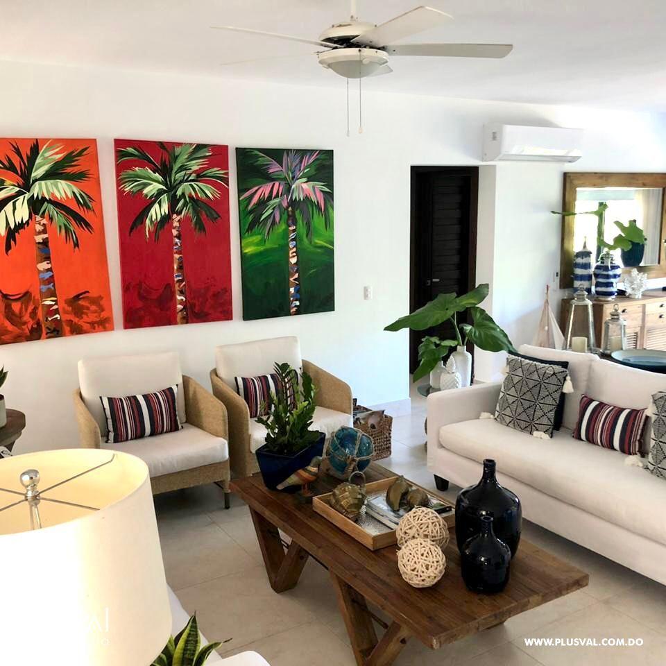 Apartamento de 2 habs amueblado en Venta, en Puntacana Village con piscina 167245