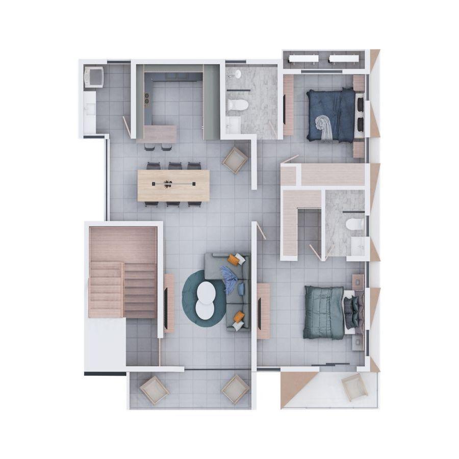 Apartamento moderno en Urb. Thomen 188667