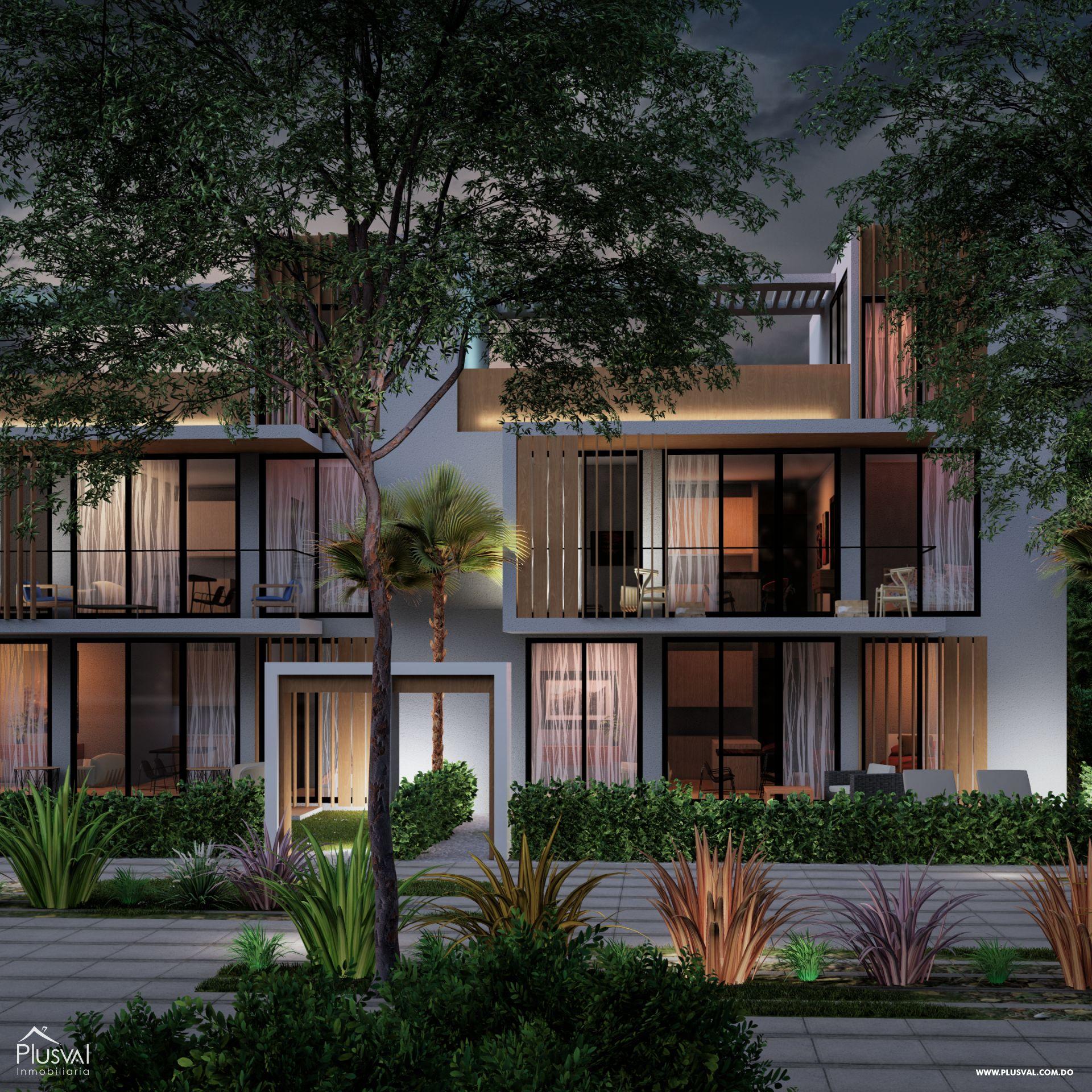 Apartamentos de 1 y 2 Habitaciones en Venta, en la zona de Punta Cana
