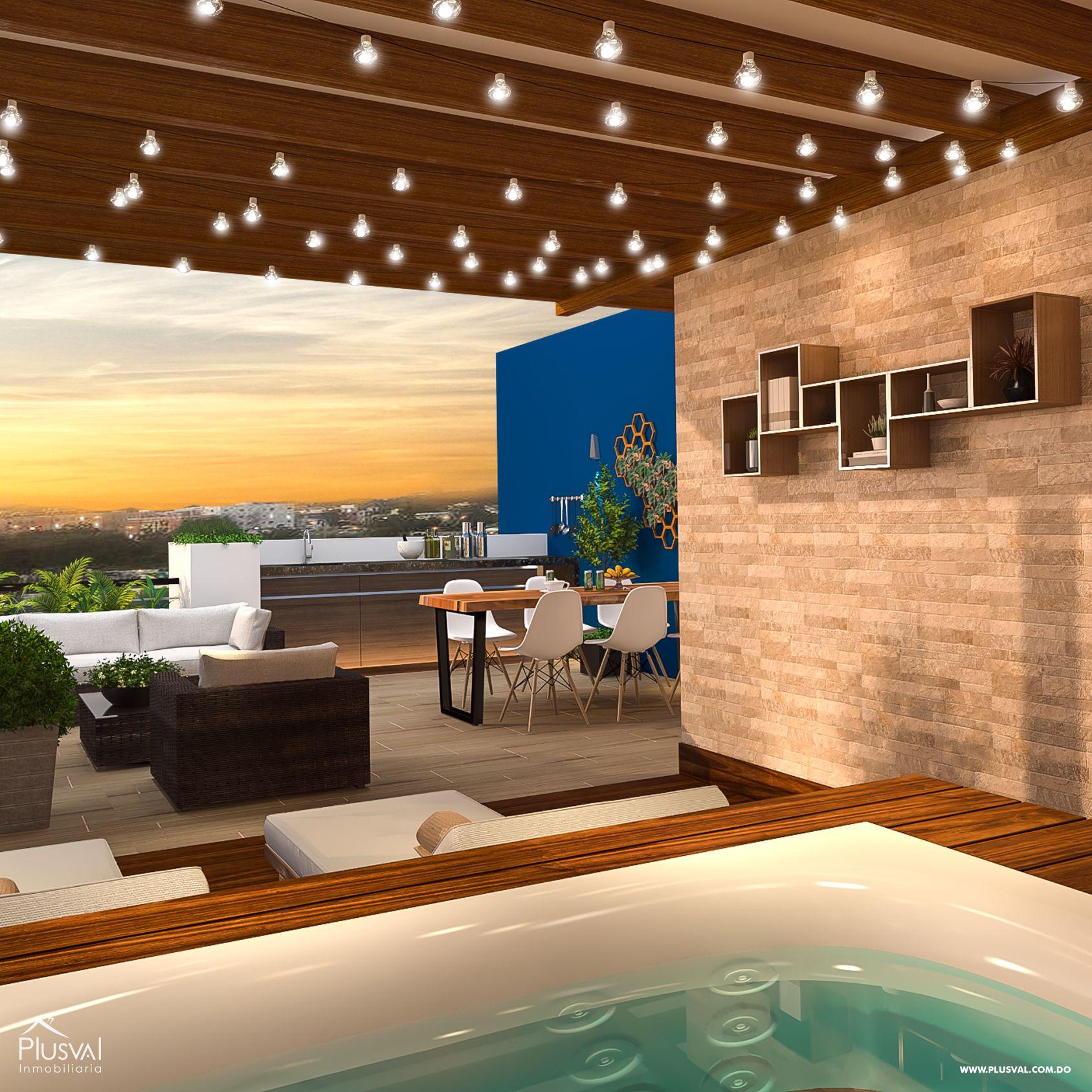 Complejo de  Aptos - Tercer Nivel - 3 Habitaciones + Rooftoop.