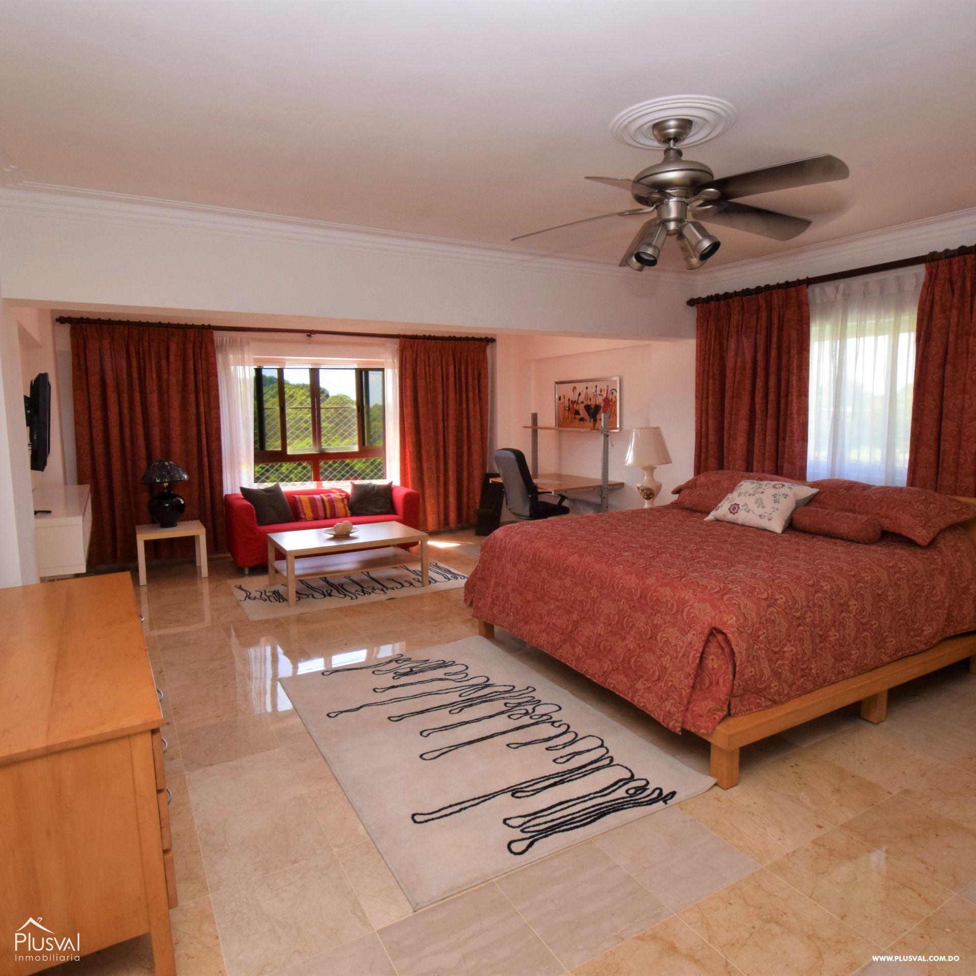 Apartamento en alquiler amueblado en la exclusiva Av. Anacaona