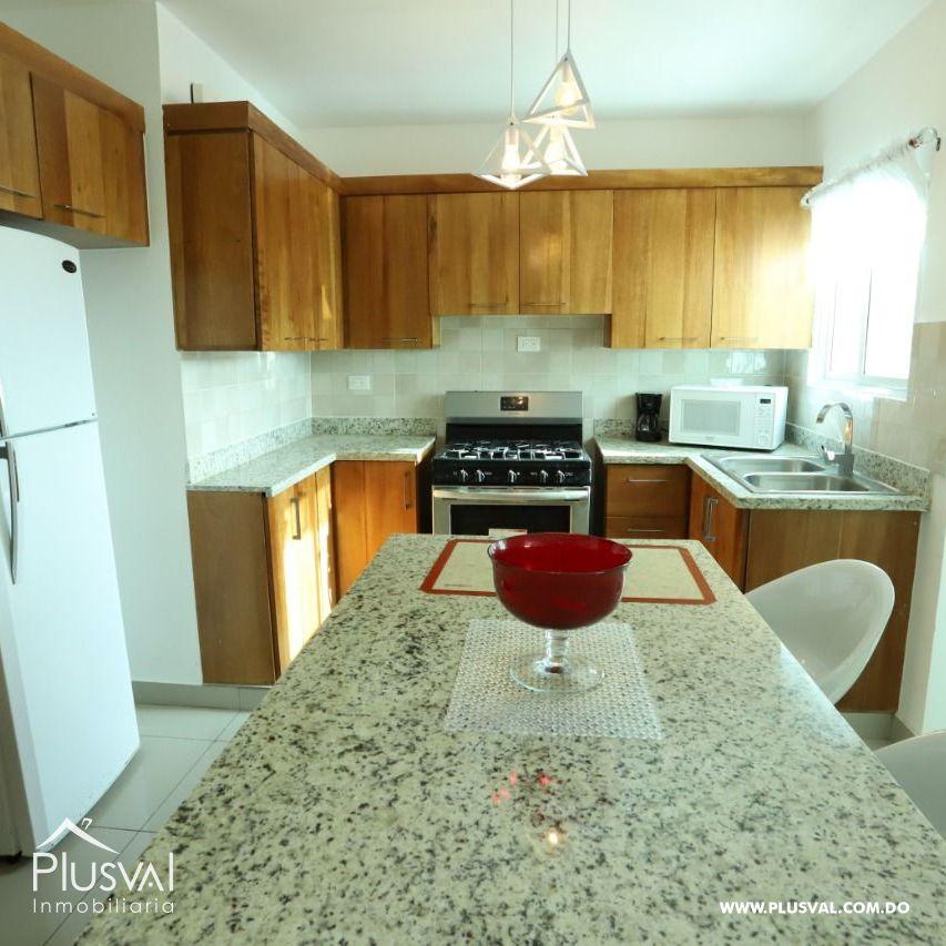 Apartamento en renta amueblado ubicado en Llanos de Gurabo 188136