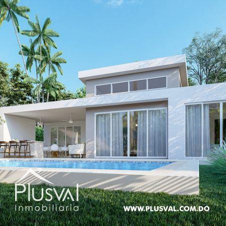 Villas a la venta en proyecto turístico de Puerto Plata.
