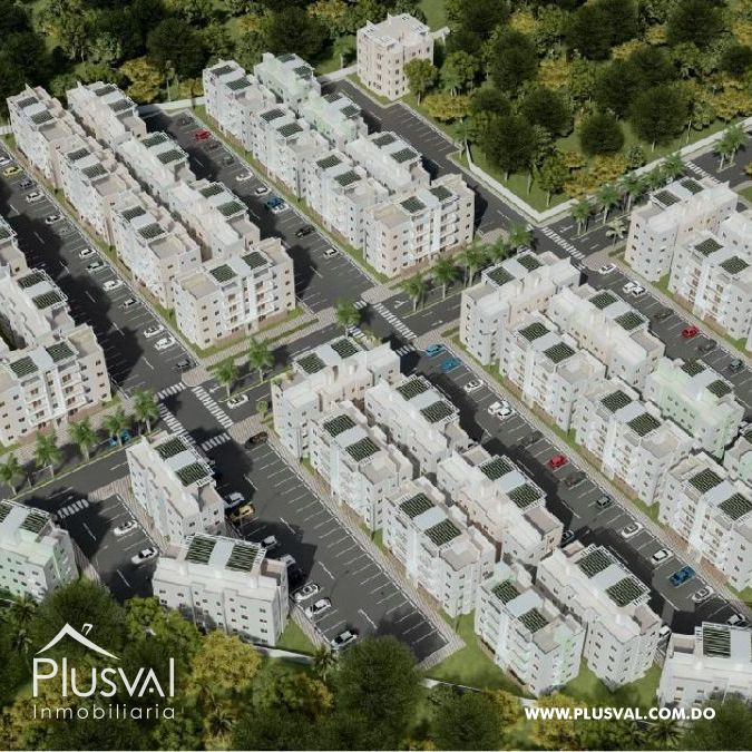 Apartamentos en la Jacobo Majluta con excelente área social 173622