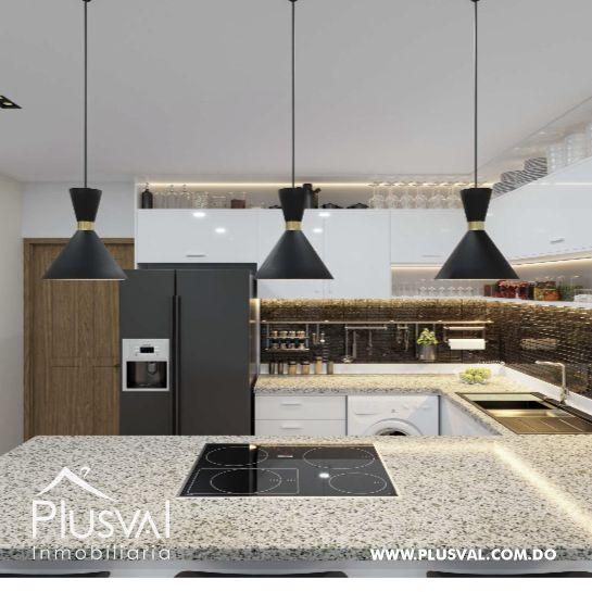 Apartamento de 2 habs en venta con Piscina, en Punta Cana 173016