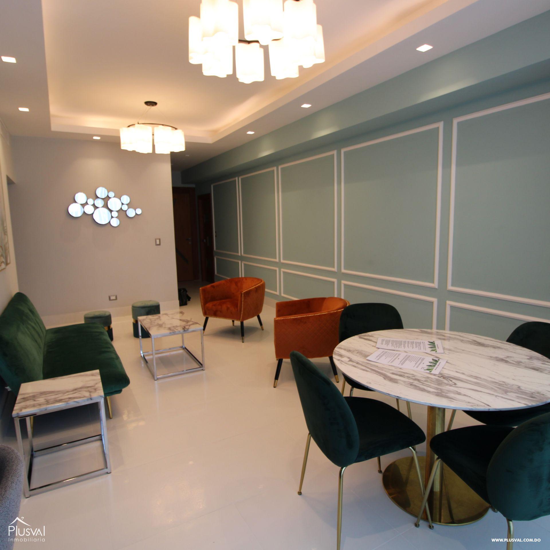 Apartamento en alquiler con linea blanca, Piantini
