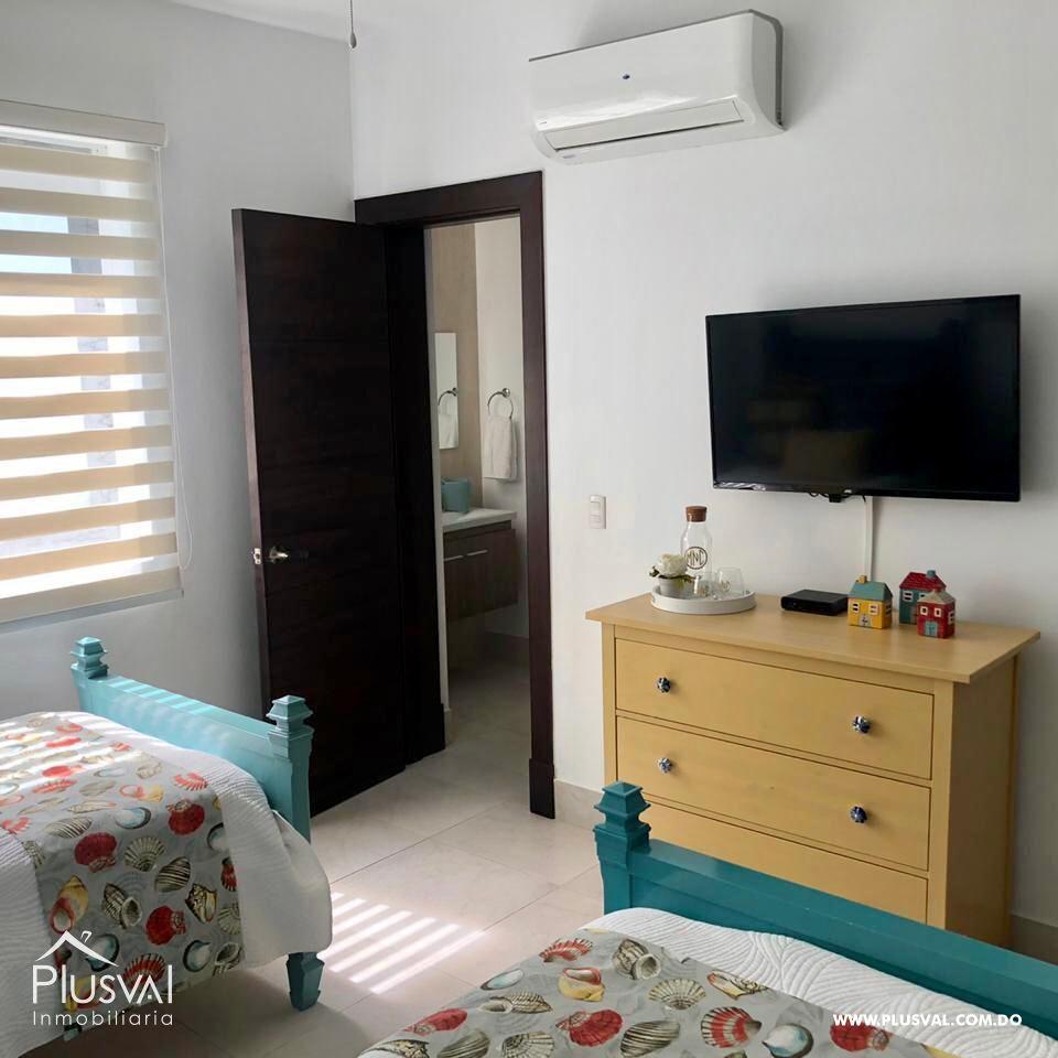 Apartamento de 2 habs amueblado en Venta, en Puntacana Village con piscina 167248