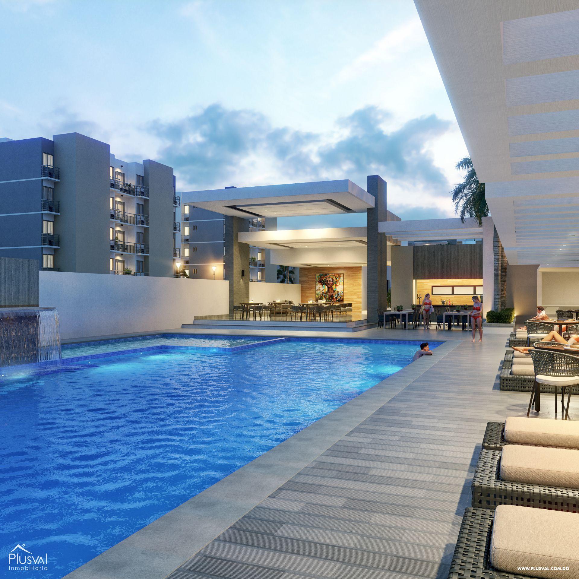 Residencial de apartamentos en venta, en Bávaro