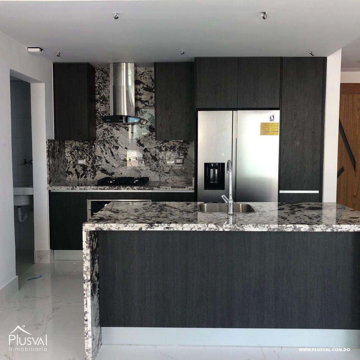 Apartamento en alquiler con linea blanca en Piantini 184903