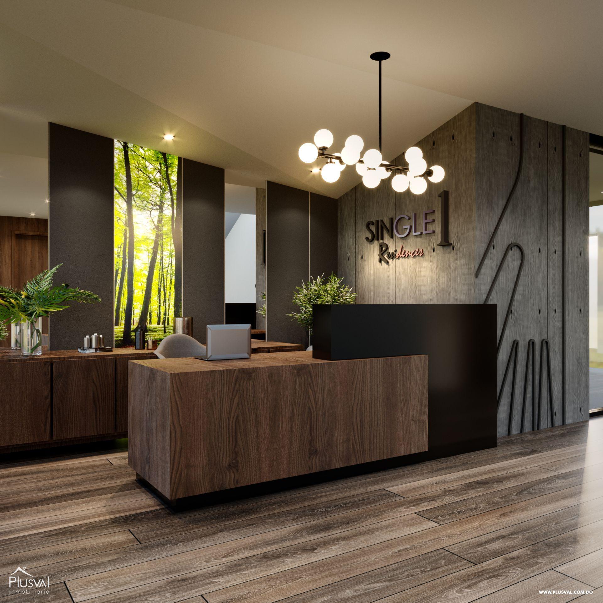 Proyecto de Apartamentos de 1 Habitación 173900