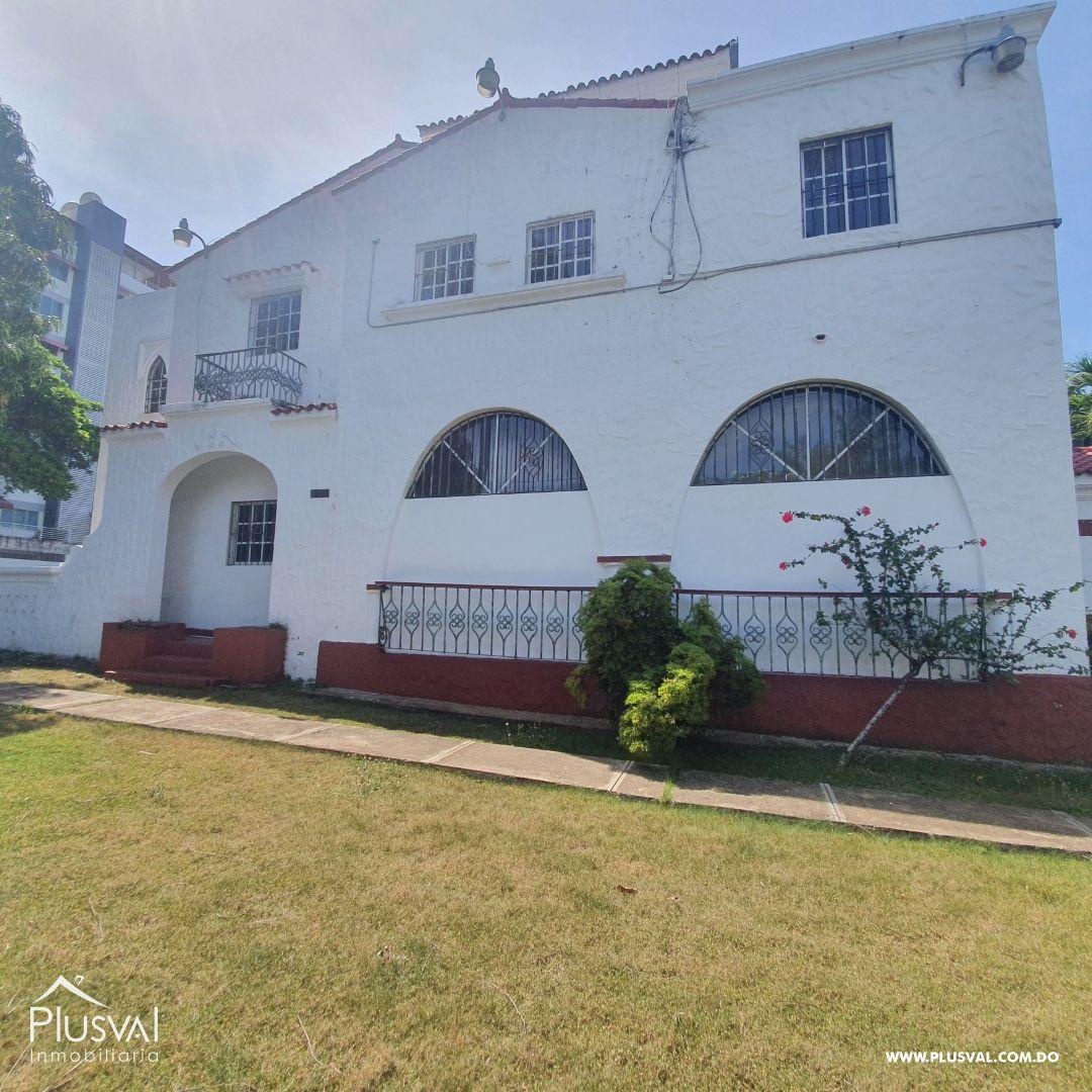 Casa en Alquiler en Gazcue 175175