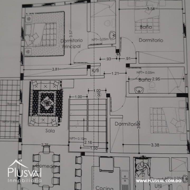 PH de dos niveles en 3er y 4to nivel, amplia terraza techada y terraza abierta en Vista Hermosa 160785