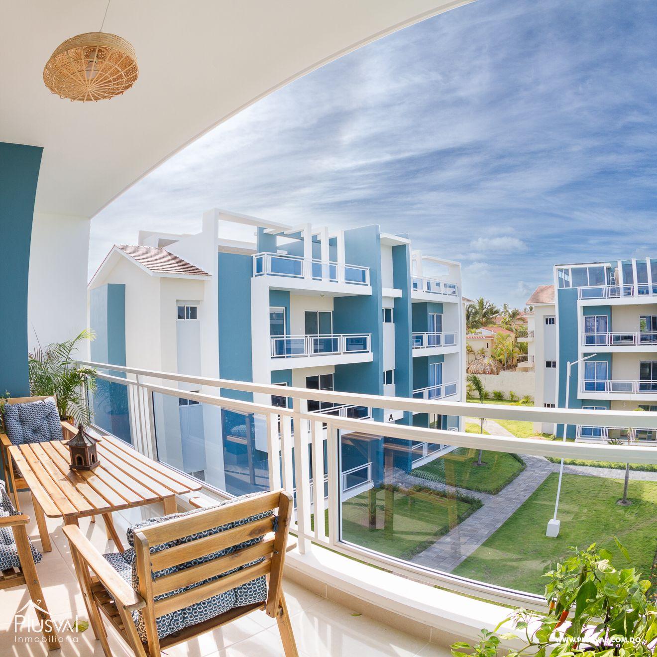 Apartamento Totalmente equipado en Venta en Complejo Turistico de 2 Habitaciones.