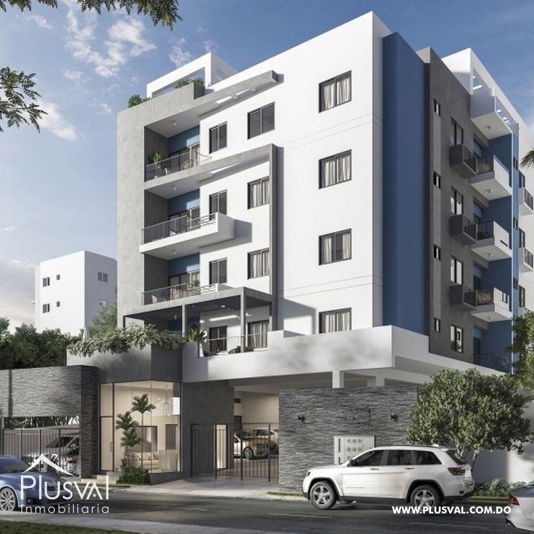 Proyecto de 2 y 3 habitaciones en los restauradores