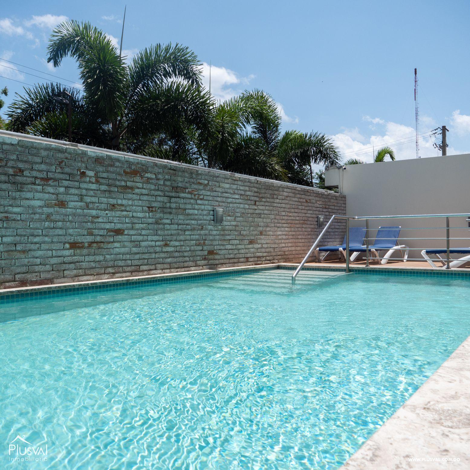 Apartamento tipo Penthouse en venta Amueblado, Arroyo Hondo Viejo