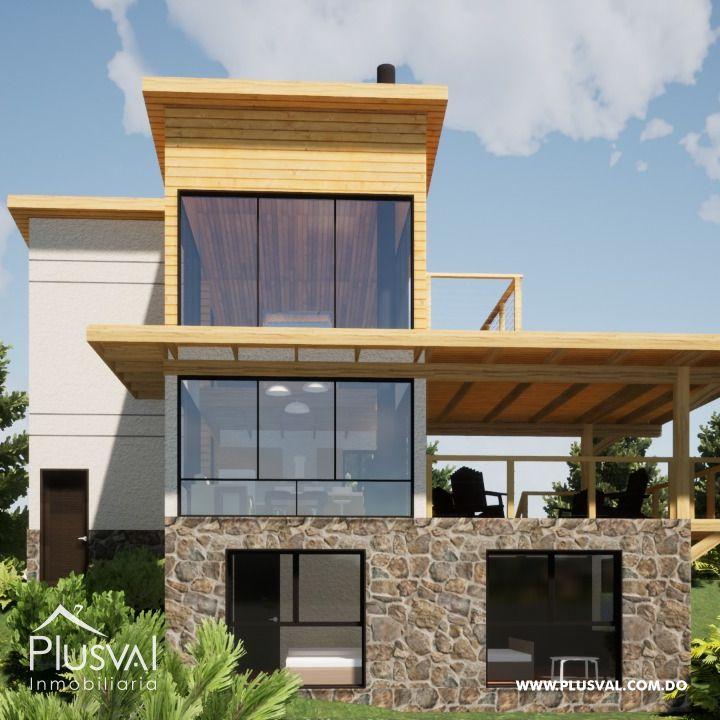 Hermoso proyecto de Villas en planos ubicado en Jarabacoa