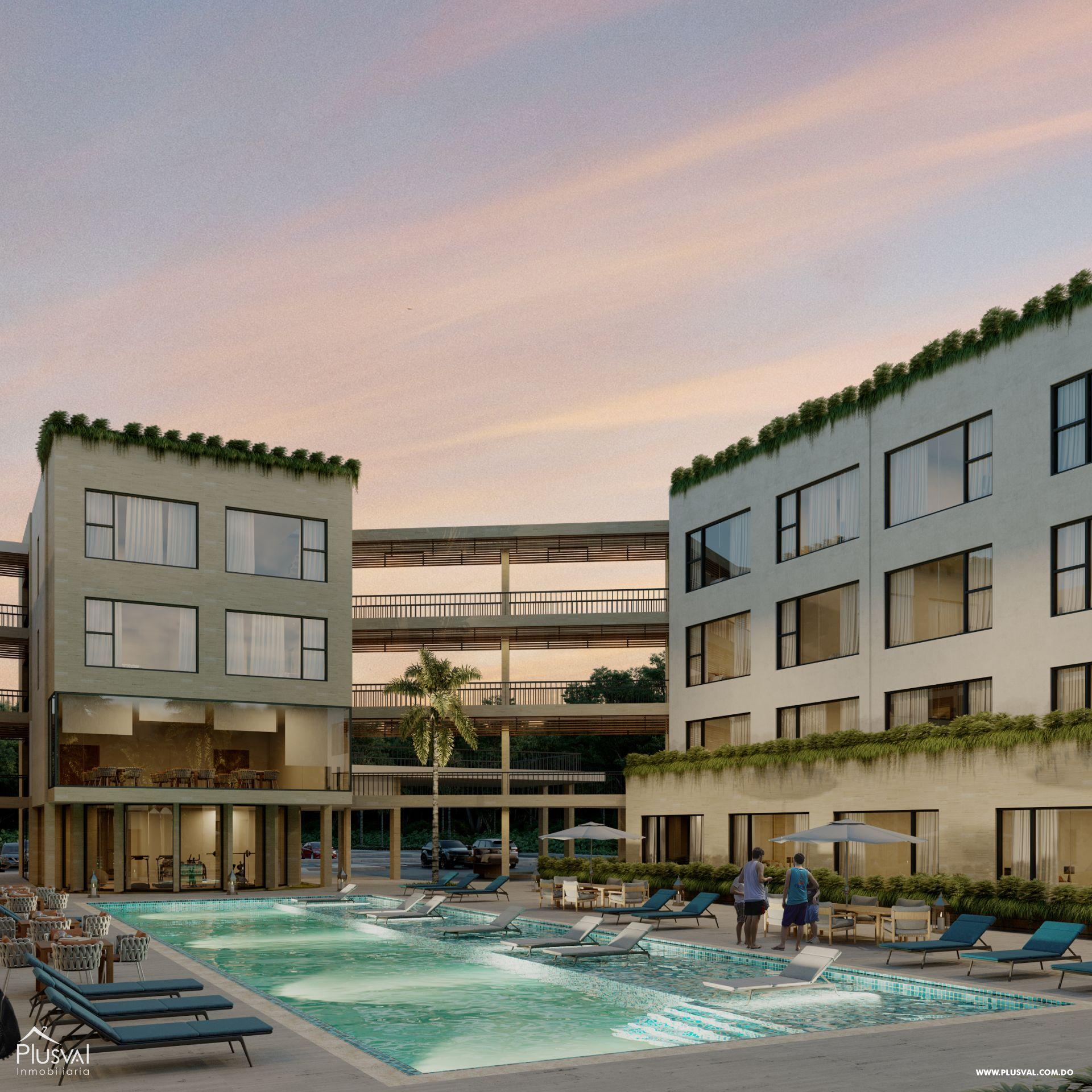 Proyecto de Apartamentos de 1 Habitación 173908