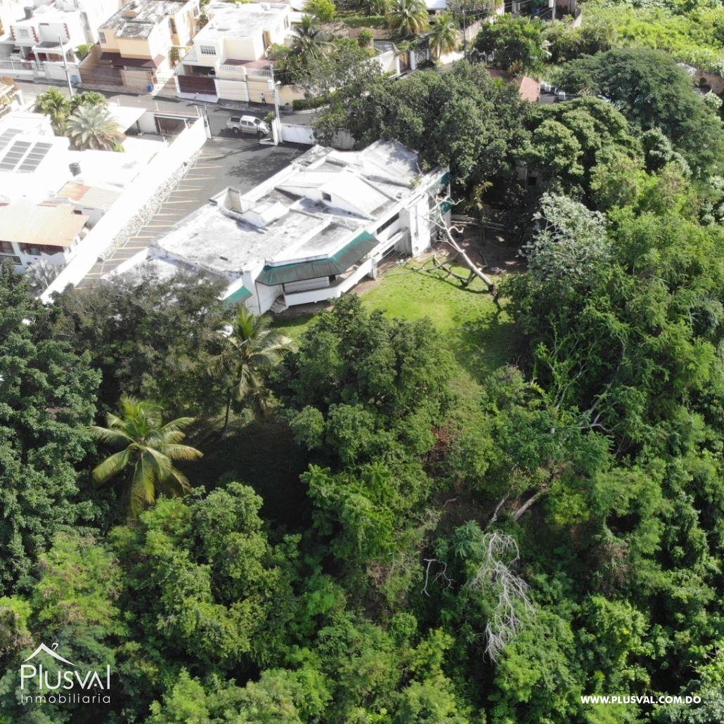 Venta de Terreno con 5,000 m2, ideal para proyecto, en Arroyo Hondo Viejo con Vista al Botánico