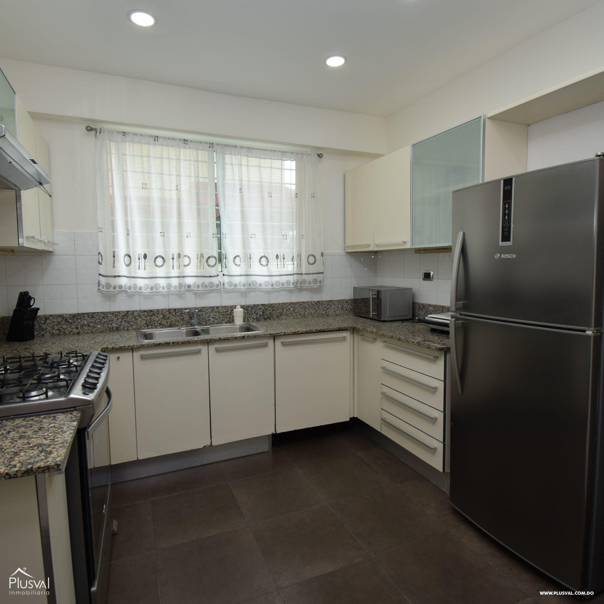 Apartamento en alquiler amueblado en Naco 154921